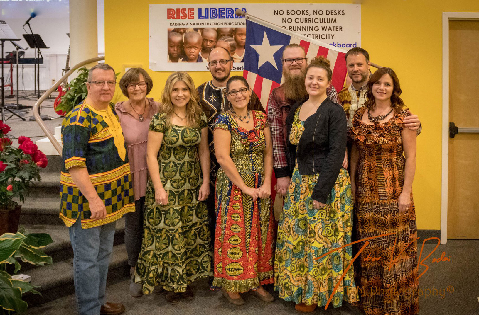 Oversight Team in New York at the Rise Liberia Launch