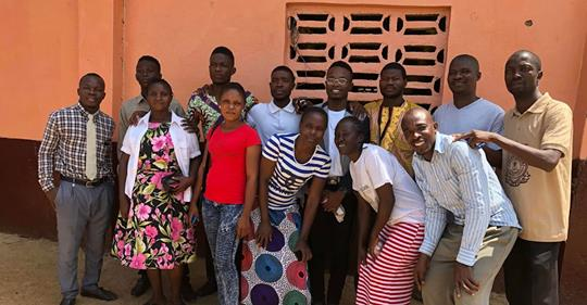 Here are the staff members of our Rise Liberia school in Monrovia.
